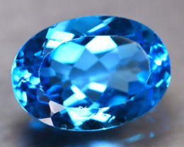 Swiss Topaz 16.07Ct Natural VVS Swiss Blue Topaz D0304/A48