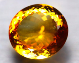 Citrine 17.15Ct Natural Golden Yellow Color Citrine D0309/A2