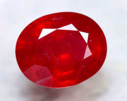 Ruby 9.04Ct Madagascar Blood Red Ruby D0319/A20
