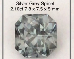 Pretty Grey Spinel - Burma - Ref 2273