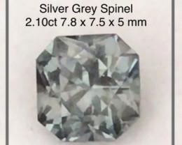 Pretty Grey Spinel - Burma - Ref 2273