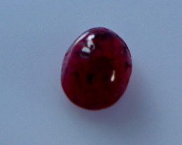 1.30 CT Natural - Unheated Red Ruby Cabochon