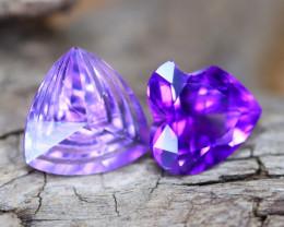 Amethyst 3.25Ct VVS Designer Cut Natural Bolivian Purple Amethyst A3013