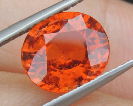 3.75cts, Spessartite Garnet,  Untreated
