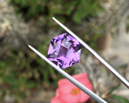 5.05 Ct Natural Purple Transparent Amethyst Gemstone