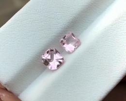 1.10 Ct Natural Pinkish Transparent Tourmaline Gems Pairs
