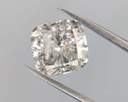 1.02 CTS , Rare Flawed Diamond , Cushion Brilliant cut , Natural Diamond