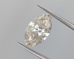 0.75 cts Diamond , Marquise Brilliant , Setting Stone , Real Diamond