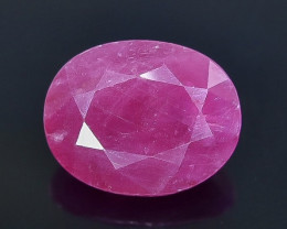 3.34 Crt Ruby  No heated Faceted Gemstone (Rk-56)