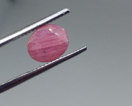 2.53cts Natural Ruby , Untreated Gemstone