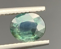 1.20 Carats Bi  Sapphire Gemstone