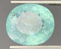 Paraiba 12.11 Carats Natural Color Tourmaline Paraiba Gemst