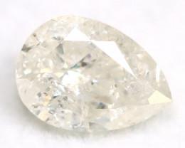 White Diamond 0.53Ct Untreated Genuine Fancy Diamond AT0128
