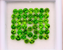 3.18ct Natural Chrome Diopside Round Cut Lot E94