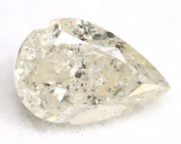 White Diamond 0.48Ct Untreated Genuine Fancy Diamond AT0143