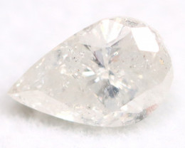 White Diamond 0.54Ct Untreated Genuine Fancy Diamond AT0146