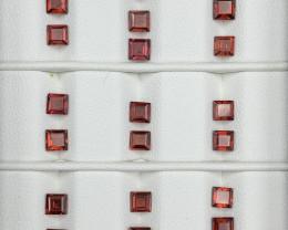 13.10 Carats Rhodolite Garnet  Gemstones Parcel