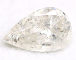 White Diamond 0.59Ct Untreated Genuine Fancy Diamond AT0149
