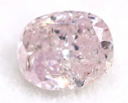 Pink Diamond 0.09Ct Untreated Genuine Fancy Diamond AT0150