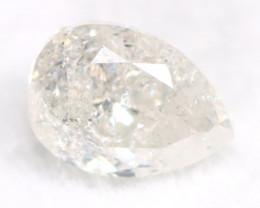 White Diamond 0.49Ct Untreated Genuine Fancy Diamond AT0155