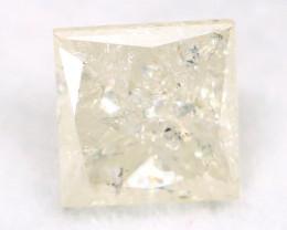 White Diamond 0.46Ct Untreated Genuine Fancy Diamond A0308