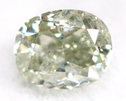 Grey Diamond 0.13Ct Untreated Genuine Fancy Diamond AT0162