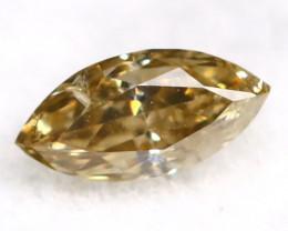 Brownish Green Diamond 0.15Ct Untreated Genuine Fancy Diamond AT0165