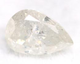 White Daimond 0.46Ct Untreated Genuine Fancy Diamond AT0167