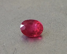 Natural fresh red Jedi spinel