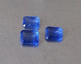 0.9ct unheated blue sapphire