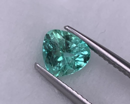Colombian Emerald Natural Top Quality Fine Luster 0.86 Cts