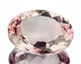 1.74 Cts Natural Baby Pink Tourmaline Oval Cut Mozambique