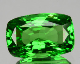 ~AMAZING~2.45 Cts Natural Vivid Green Tsavorite Garnet Cushion Kenya