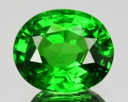 ~STUNNING~2.05 Cts Natural Vivid Green Tsavorite Garnet Oval Cut Kenya