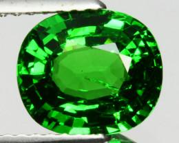 ~DAZZLING~2.56 Cts Natural Vivid Green Tsavorite Garnet Oval Cut Kenya
