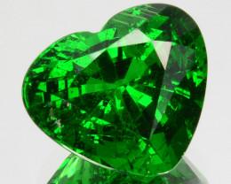 ~FABULOUS~6.23 Cts Natural Vivid Green Tsavorite Garnet Heart Cut Kenya