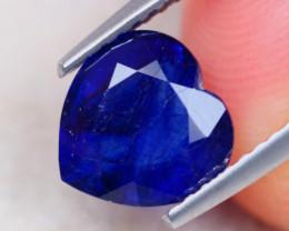 2.48Ct Ceylon Blue Sapphire Heart Cut Lot B2108