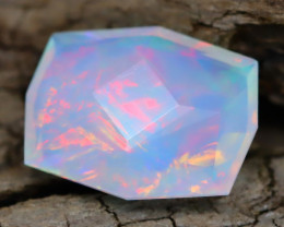 Welo Opal 1.32Ct Master Cut Natural Ethiopian Flash Color Welo Opal A0109