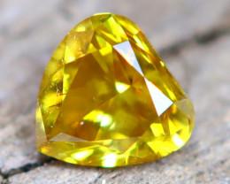 Yellow Diamond 0.17Ct Untreated Genuine Fancy Diamond AT0182