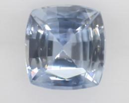 0.90 carats   Natural Blue Sapphire   5.6 x 5.3 x3.1 mm   Cushion Cut