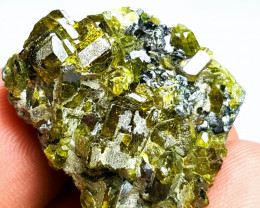Amazing Natural color Damage free Epidote combine with Garnet 67Cts-A