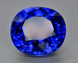 Natural Tanzanite 27 Ct D block  Color Top Quality ~ Gorgeous