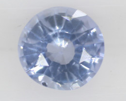 0.45 carats | Natural Blue Sapphire | 4.2 x 4.6 x 2.3 mm | Round Cut