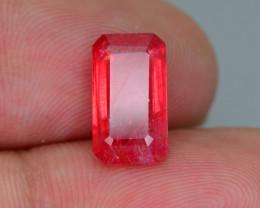 Rare Rhodonite 3.08 ct Great Rasberry Color Africa SKU 5