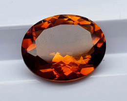 2.79Crt Madeira Citrine Natural Gemstones JI37