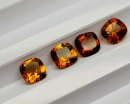 2.79Crt Madeira Citrine Lot Natural Gemstones JI37