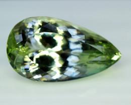 Kunzite, 69.35 Carats Amazing Lush Green Hiddenite Kunzite Gemstone