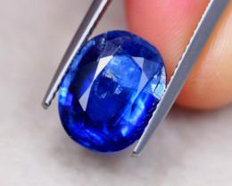 5.89ct Natural Blue Kyanite Oval Cut Lot V7418