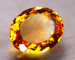 Citrine 7.12Ct Natural Golden Yellow Color Citrine D0515/A2