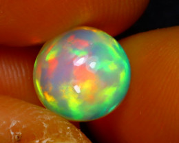 Welo Opal 1.54Ct Natural Ethiopian Play of Color Opal D0536/A28